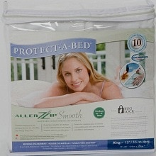 Protect-A-Bed Aller Zip Smooth King Mattress Encasement 13 Inch