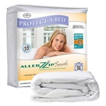 Protect-A-Bed Aller Zip Smooth Queen Mattress Encasement 13 Inch
