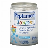 Peptamen Junior Complete Peptide-Based Elemental Nutrition Vanilla