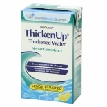 Resource Thickened Water Lemon Flavored 27 Pack Nectar Consistency