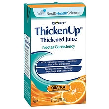 Resource Thickened Orange Juice