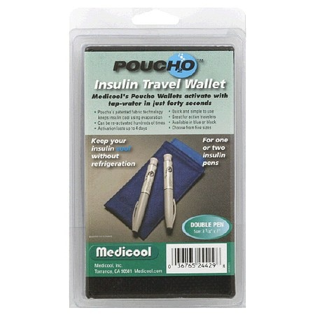 Poucho Insulin Travel Wallet Duo