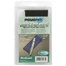 Insulin Travel Wallet, Single