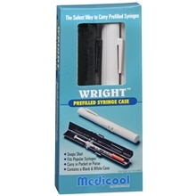 Medicool Prefilled Syringe Case Black