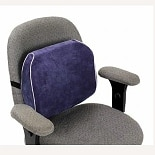 Essential Medical Memory Foam Lumbar Support Cushion