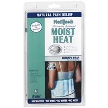 Bruder MediBeads Moist Heat Wrap with Ties Therapy Wrap Size 7 x 14 Inches