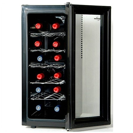 Koolatron Twelve (12) Bottle Slim Wine Cooler