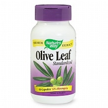 Olive Leaf Standardized Dietary Supplement Capsules