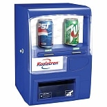 Koolatron Vending Fridge Blue