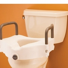 Nova Raised Toilet Seat with Detachable Arms 8353
