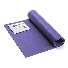 Yoga Mat with Yoga Posture Poster