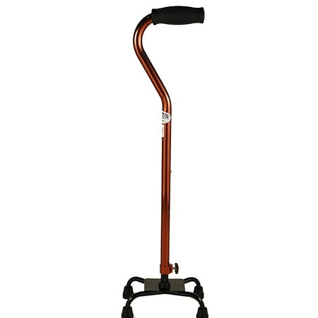 Nova Small Base Quad Cane Bronze