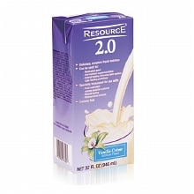 Resource 2.0 Medical Food Complete Liquid Nutrition Vanilla