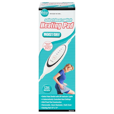 Cara Heating Pad, Moist/Dry