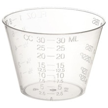 Medline Plastic Medicine Cups 1 OZ
