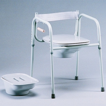 TFI Medical Commode with Elongated Seat, US Made