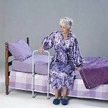 TFI Medical HandiRail Bed Assist Rail Dove Gray