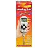 Heating Pad with Select Heat, Moist/Dry