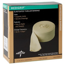 Medline Medigrip Elasticated Tubular Support Bandage 3.4 inch width