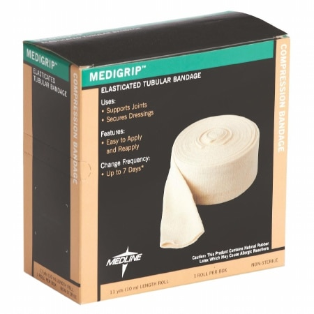 Medline Medigrip Elasticated Tubular Support Bandage 3 Inch