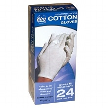 Cotton Glove Dispenser Box Extra Large