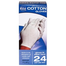 Cotton Glove Dispenser Box Medium medium