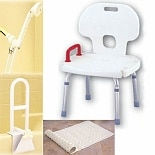 Nova Bath Safety Package 4 Piece Set