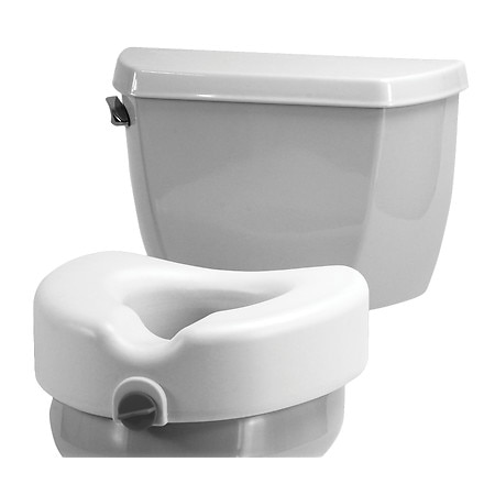 Nova Raised Locking Toilet Seat