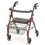 Nova Cruiser Deluxe Junior Rolling Walker Red