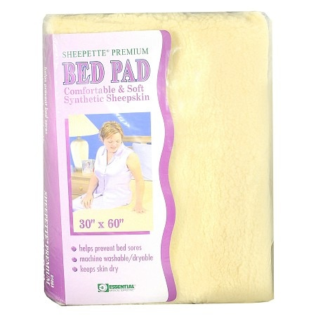 "Essential Medical Sheepette Premium Bed Pad 30"" x 60"""