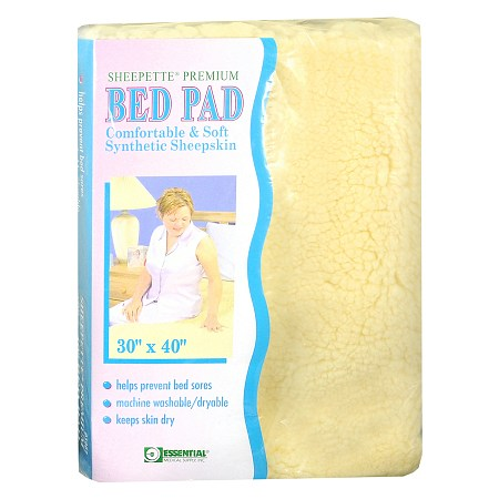"Essential Medical Sheepette Premium Bed Pad 30"" x 40"""