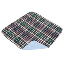 Quik-Sorb Reusable Underpad 34 inch x 36 inch Plaid