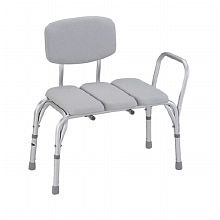 Padded Transfer Bench with Back, 9080