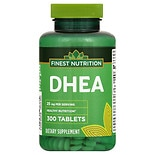 Finest Nutrition DHEA 25 mg Dietary Supplement Tablets