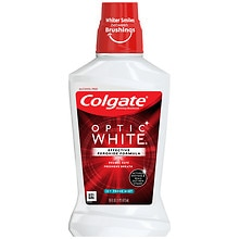 Colgate Optic White Mouthwash Refreshing Mint