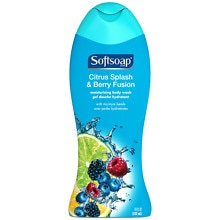 Softsoap Moisturizing Body Wash with Moisture Beads Citrus Splash & Berry Fusion