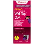 Walgreens Children's Wal-Tap DM Cold & Cough Elixir Red Grape Red Grape Flavor