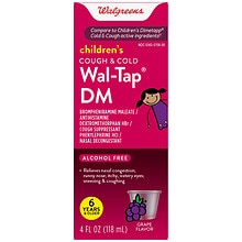 Walgreens Children's Wal-Tap DM Cold & Cough Elixir Red Grape