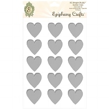 Epiphany Crafts Shape Studio Bubble Caps Heart 25