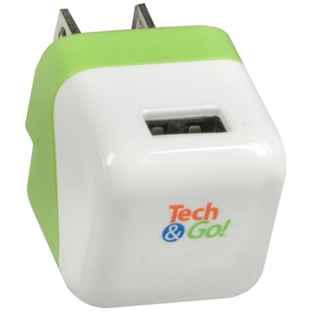 E-filliate Tech & Go Dual USB Wall Charger White