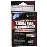 Magnum Blood-Flow Sexual Peak Performance Dietary Supplement Tablets