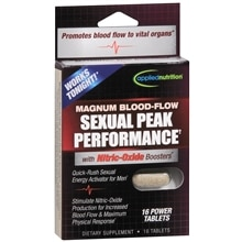 Blood-Flow Sexual Peak Performance Dietary Supplement Tablets