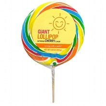 Giant Lollipop, Cherry Flavor