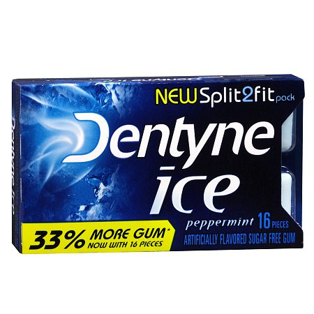 Dentyne Ice Sugar Free Gum Peppermint