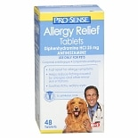Pro-Sense Allergy Relief for Pets Antihistamine Tablets