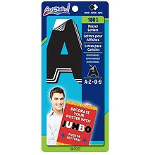 Jumbo Quick Letter Pads, Black & White