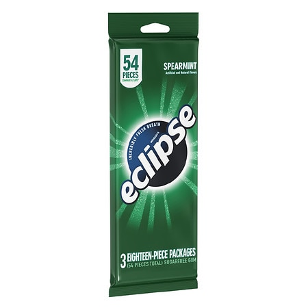Wrigley's Eclipse Sugarfree Gum Spearmint