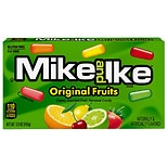 Mike and Ike Chewy Fruit Flavored Candies Cherry