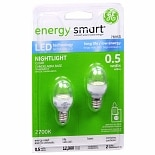 GE Energy Smart Light Bulbs 0.5 Watt Nightlight C7