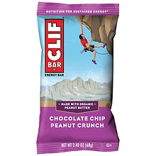 Clif Bar Energy Bar Chocolate Chip Peanut